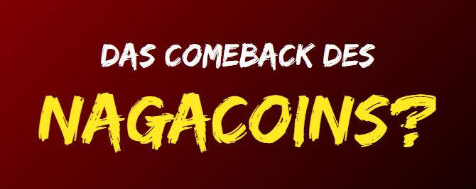 Bekommt der Nagacoin (NGC) eine zweite Chance?