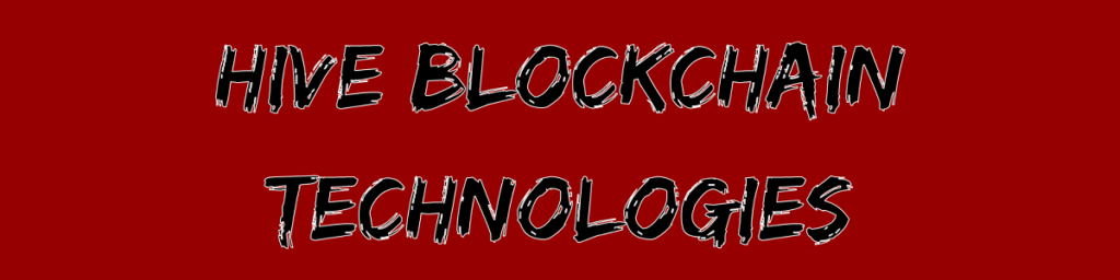 Hive Blockchain Technologies verzwanzigfacht sich